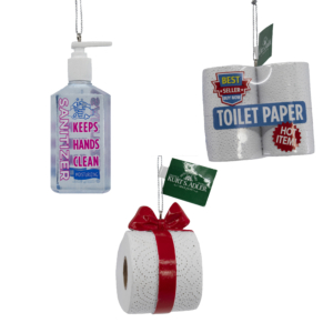 "2.5"" - 3.5"" set of 3 Sanitizer/Toilet Paper"