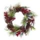 """20"""" Red Berries/Leaves/Pinecones Wreath"""