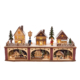 "8.65"" Battery Operated LED Wooden Village"
