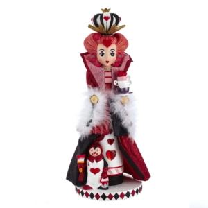 """17.5"""" Hollywood Queen of Heart Nutcracker"""