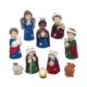 "1.25"" - 3"" 10pc Children Nativity Set"