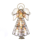 "9.75"" Capiz Angel Tree Topper with 10 Incandescent Lights"